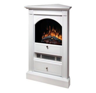 Dimplex Dcf7850 Chelsea 20 Electric Fireplace With Corner Mantel And Storage Drawer Product